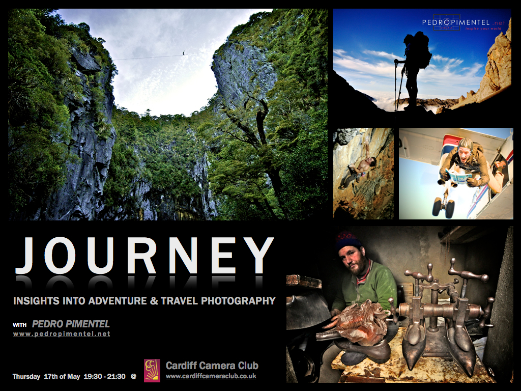 Adventure & Travel Photography Talk @ Cardiff Camera Club