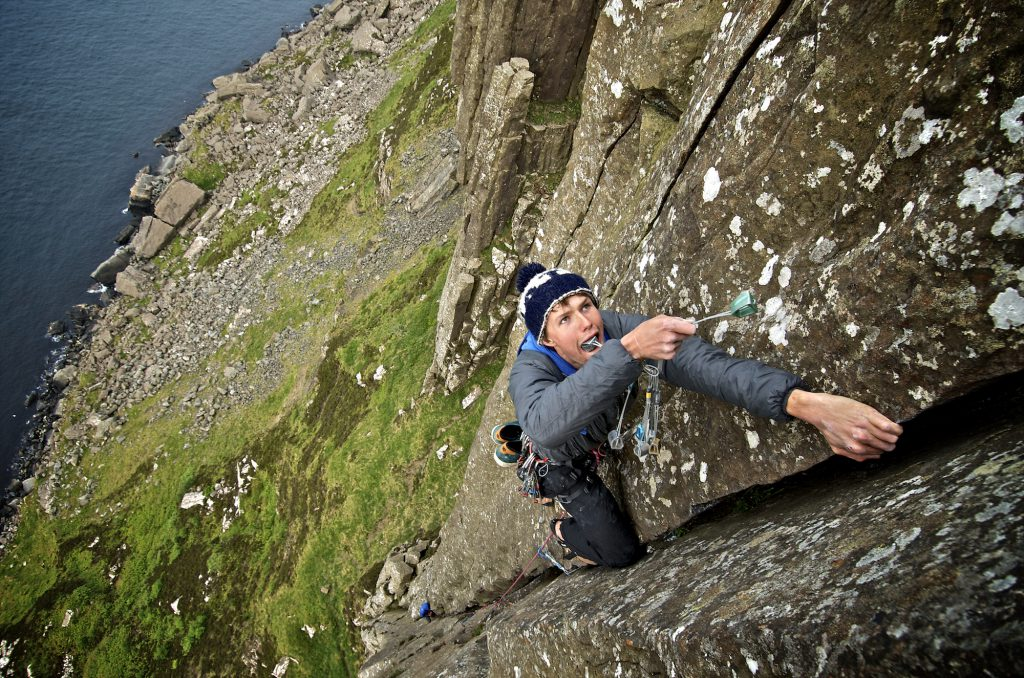 "Fairhead Trad Climbing/Highline Meeting David ""Nails"" Lyons Ewing Burning up his credits on ""Burn up HVS 5a"" Enjoy, Like, Tag, Post, Repost but above all... Be inspired and go :) Ride the planet! Location: Ireland, Fairhead More info @ www.pedropimentel.net www.pedropimentel.wordpress.com/ www.vimeo.com/pedropimentel Mandatory Credit: 2012©PedroPimentel.net"
